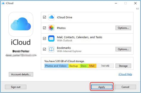 import outlook contacts  icloud imobie