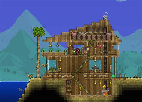 expert mode beach house  terraria