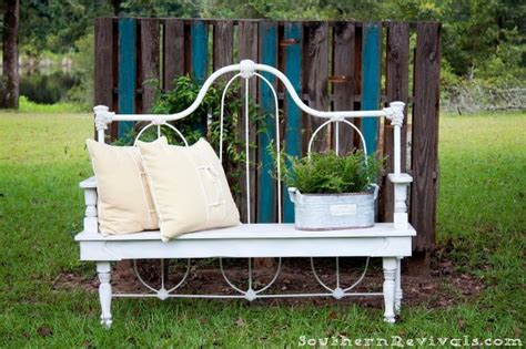 Upcycle Bed To Bench