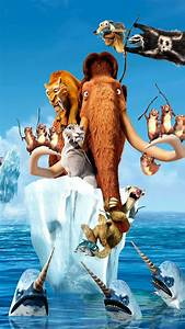 Ice Age 4 Continental Drift Movie HD Wallpaper iPhone 6 ...