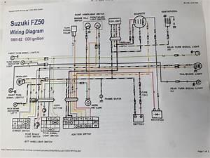 Suzuki Fz50 Wiring Diagram
