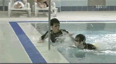 Pool Swimming Scenes Hall