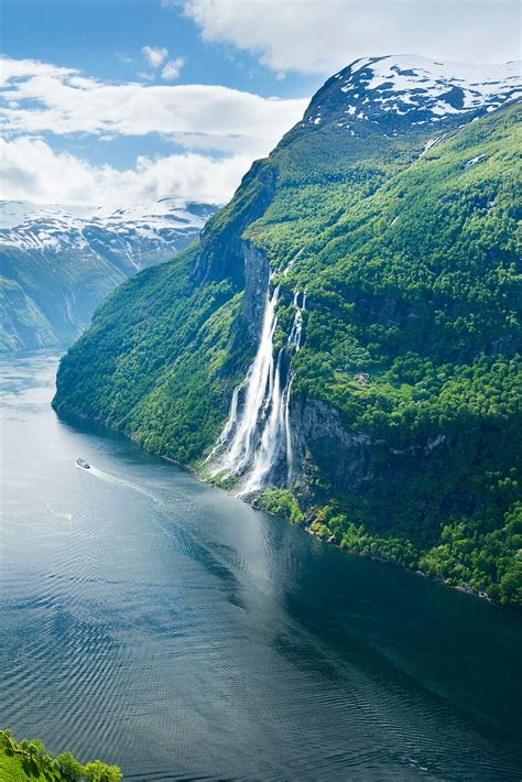 Geirangerfjord One Of Norways Most Dramatic Fjords And