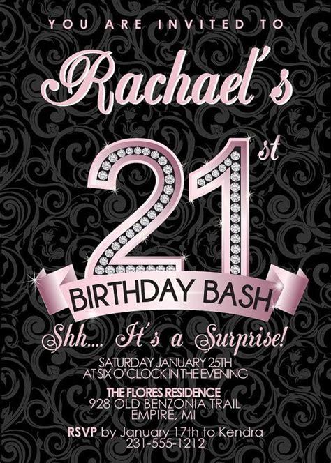 st birthday invitation adult birthday party invitation