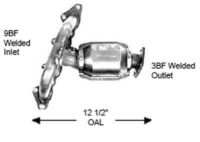 2002 Kia Spectra Catalytic Converter by 2002 Kia Spectra Discount Catalytic Converters