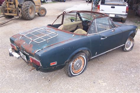 Fiat Spider Parts by Fiat Spider Convertible Parts Car