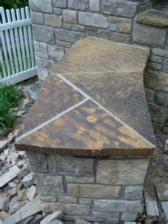 flagstone countertop beautiful outdoor pizza oven outdoor fireplace and barbeque grill with flagstone countertops