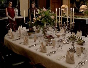 Table A Diner : dinner downton abbey style ~ Teatrodelosmanantiales.com Idées de Décoration