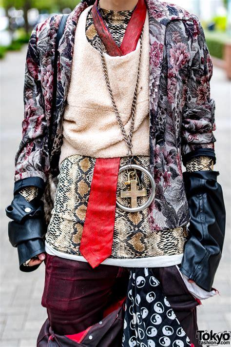 avant garde tokyo streetwear style  rowan prime cut saint laurent vivienne westwood prada