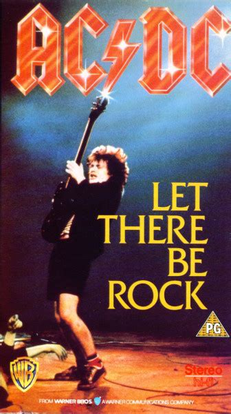 acdc    rock vhs pal reissue discogs