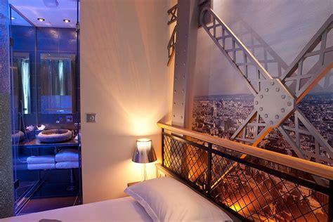 chambre tours chambre tour eiffel hotel design secret de 75009