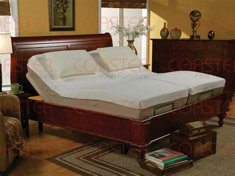 queen size adjustable bed  massage  wireless remote