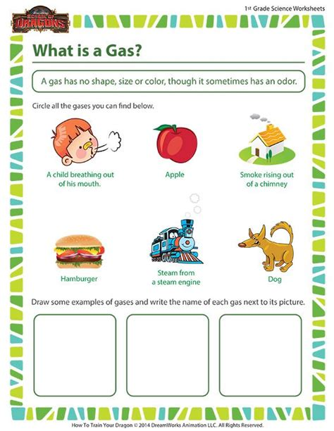 what is a gas free science worksheet for