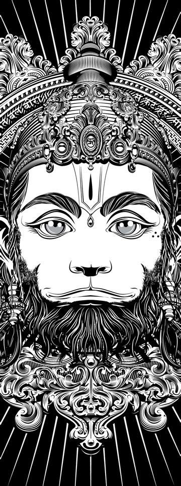 De 25+ bedste idéer inden for Hanuman tattoo på Pinterest | Shiva tattoo, Shiva og Krishna