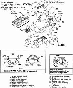 2006 Mitsubishi Galant Exhaust System Diagram