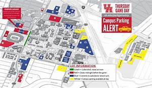 Campus Parking On Game Day