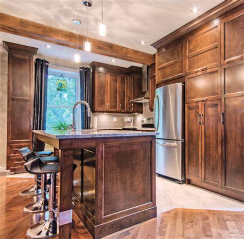 cuisine plancher bois une cuisine tout en tradition et modernité cuisine