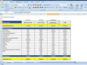 Excel Sheet Templates Property Management Spreadsheet Excel Template For Tracking Rental Income And Expenses On