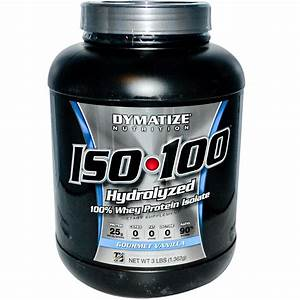 Dymatize Nutrition  Iso U2022100  100  Whey Protein Isolate  Gourmet Vanilla  3 Lbs  1 362 G