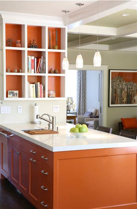 burnt orange kitchen accessories 27 cheerful orange kitchen decor ideas digsdigs 4997