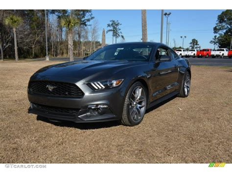 magnetic metallic ford mustang ecoboost coupe