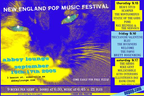 ► england pop music group navigational boxes (49 p). The New England Pop Music Festival