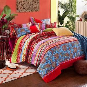 Fadfay, Home, Textile, Bohemian, Cotton, Bedding, Sheet, Set