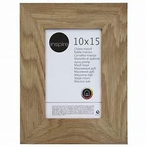Cadre Leroy Merlin : cadre nakato 10 x 15 cm ch ne clair leroy merlin ~ Melissatoandfro.com Idées de Décoration