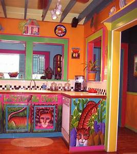 Image result for multi color kitchen cabinets random for Kitchen colors with white cabinets with detroit tigers wall art