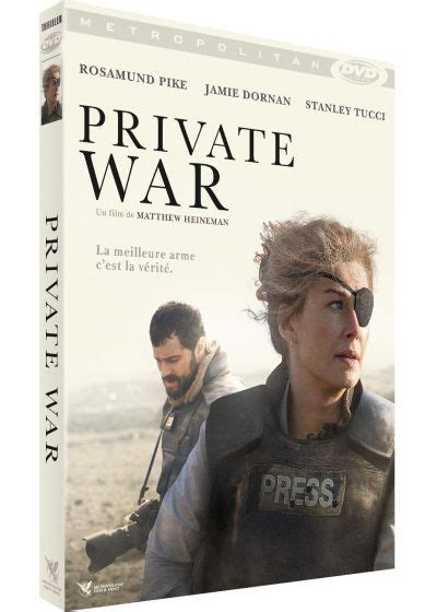 American war correspondent, marie colvin, reports from conflicts including kosovo, chechnya, east timor and the middle east. DVDFr - Private War - DVD