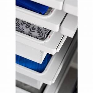 Panier Coulissant Dressing : panier tiroir filet coulissant dressing hauteur 85mm elfa ~ Premium-room.com Idées de Décoration