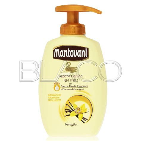 Mantovani Sapone mantovani sapone neutro liquido vaniglia dispenser 300ml