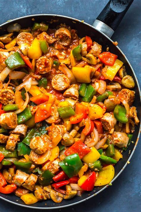 one pan sausage peppers and onions the bloor