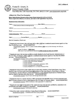 cook county tax exemption forms knox county wheel tax exemption fill online printable