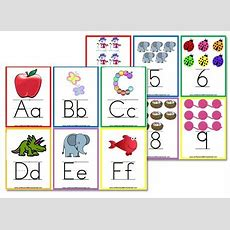 {more} Free Alphabet Flashcards & Wall Posters  Free Homeschool Deals  Alphabet Wall Cards