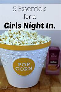 5 Essentials for a Girls Night In. | I am the Maven®