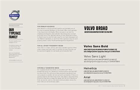 volvo brand guidelines