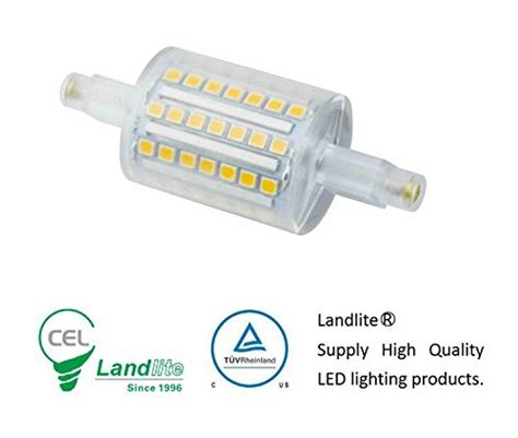 landlite r7s 78mm led bulb j type linear halogen