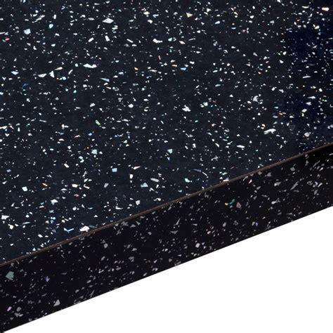 mm astral black gloss square edge laminate worktop lm