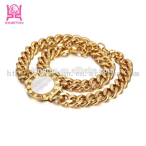 replica designer jewelry 18k gold bracelet designer replica jewelry for