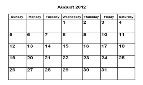 Have You Laughed Today ? Calendar August 2012