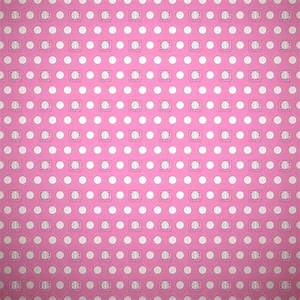 Polka dot pink retro background Royalty Free Vector Clip ...