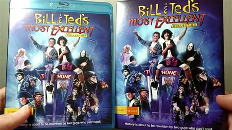 Bill & Ted's Most Excellent Collection Bluray Unboxing