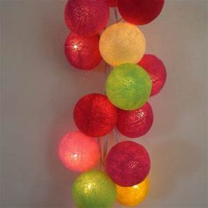 Guirlande De Photo : guirlande de 35 boules lumineuses ~ Teatrodelosmanantiales.com Idées de Décoration