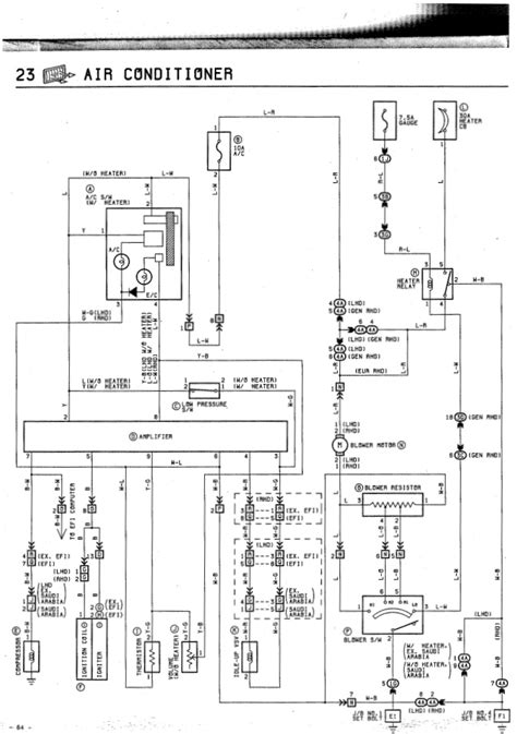Toyota Corolla Air Conditioning Diagram Auto