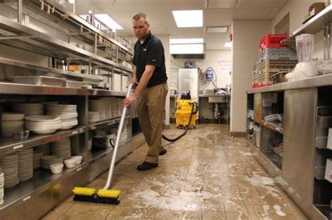 kitchen floor cleaning tips tips for effective restaurant cleaning kaivac cleaning 4769