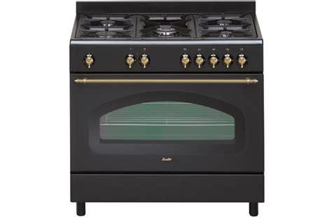 cuisinez comme piano de cuisson sauter scm690e retro noir scm690e