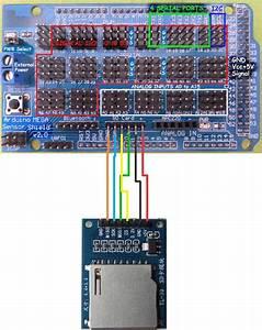 Interfacing Sd Card Module To Arduino Mega Sensor Shield