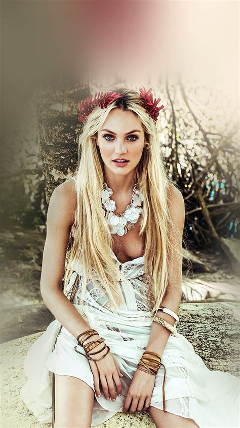 hp candice swanepoel model victoria girl wallpaper