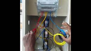 How To Connect Industrial Energy Meter  Ct  U0026 Pt Connect With Energy Meter